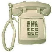 Cortelco 250009vba20m Standard Phone - Ivory - 1 X Phone Line (2500-v-iv)