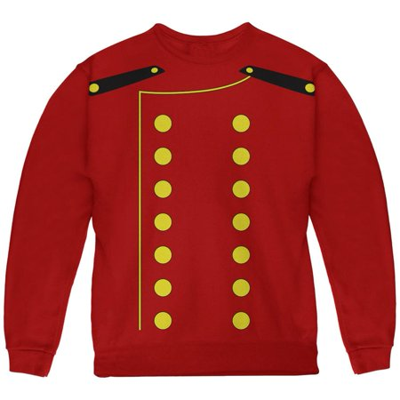 Halloween Hotel Bellhop Costume Red Youth Sweatshirt (The W Hotel Boston Halloween)