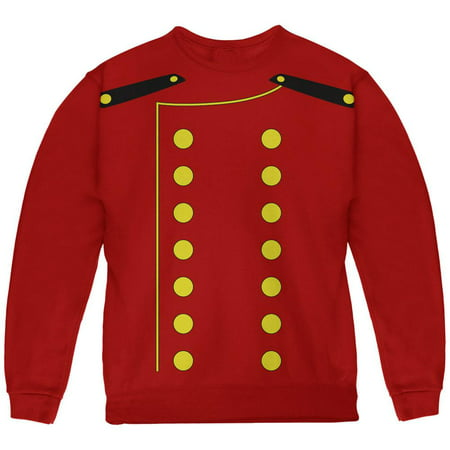 Halloween Hotel Bellhop Costume Red Youth Sweatshirt