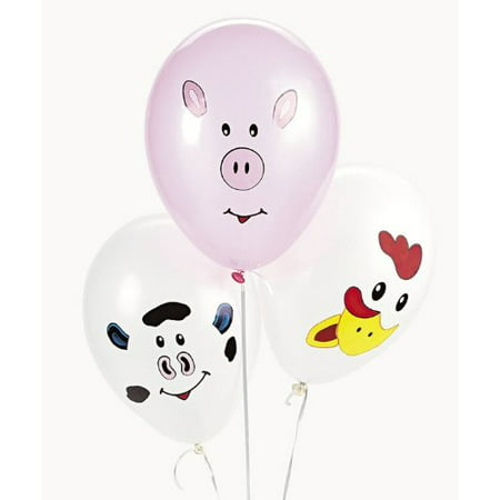Balloon Weights Make Your Own (Make your Own Farm Animal Balloons (1 dz), Fast shipping,Brand The Competitive)