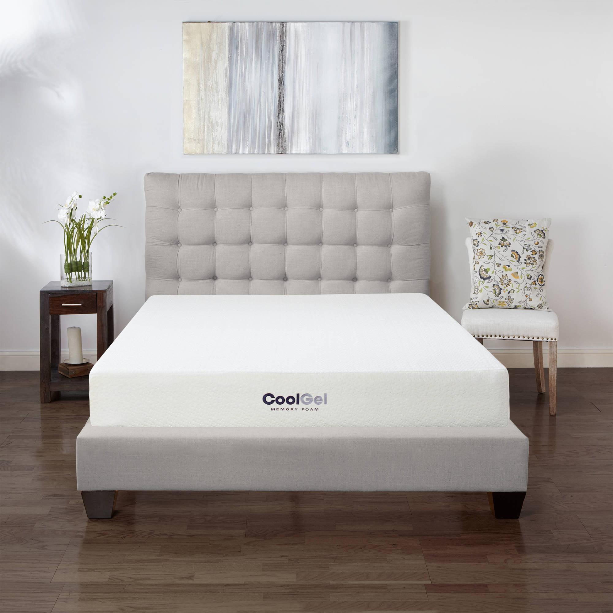 "Modern Sleep Cool Gel 8"" High Ventilated Gel Memory Foam Mattress"