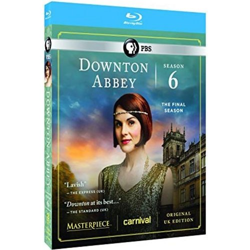 Downton Abbey: The Complete Sixth Season (Blu-ray) (With INSTAWATCH)