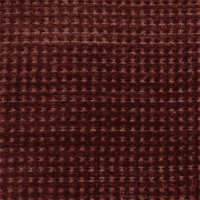 Merrimac Garnet Red Gridlock Chenille Upholstery Fabric, Fabric By the Yard
