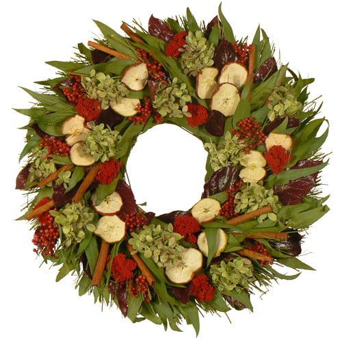 Urban Florals Cinnamon Apple and Spice Wreath