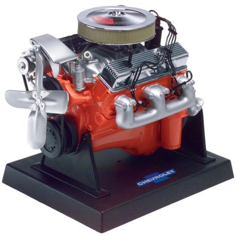 Revell 85-1566 Metal Body 350 C.I. LT-1 Chevy Small Block Engine Model Kit by
