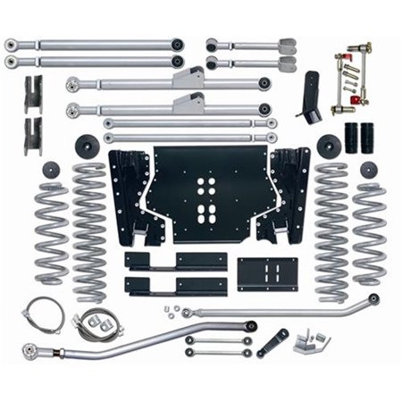 Rubicon Express Re7224 Extreme Duty Suspension Lift Kit Fits 04 06 Wrangler  Lj