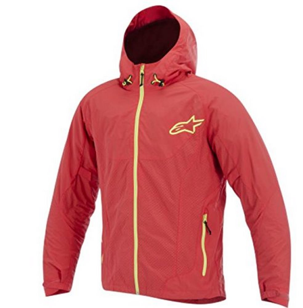 ALPINESTARS Tornado Jacket Textile Red/Yellow 2X-Large