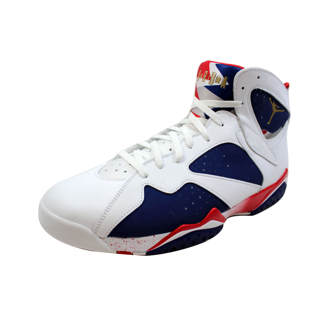 AIR JORDAN 7 RETRO 'TINKER ALTERNATE OLYMPIC' - 304775-123