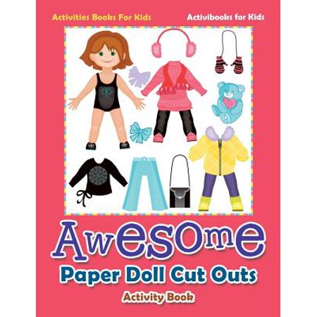 Awesome Paper Doll Cut Outs Activity Book - Activities Books for Kids](Leprechaun Cut Out)