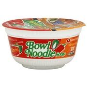 Nongshim Kimchi Vegetable Bowl Noodle Soup, 3.03 oz (Pack of 12)
