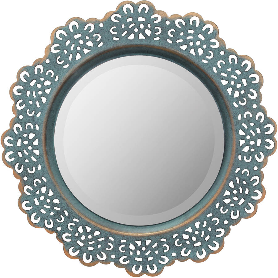 Metal Lace Wall Mirror