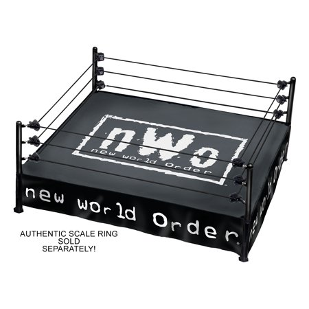 nWo - Ring Mat & Skirt  - Ringside Exclusive Accessories for the Authentic Scale Ring (Wwe 1991)