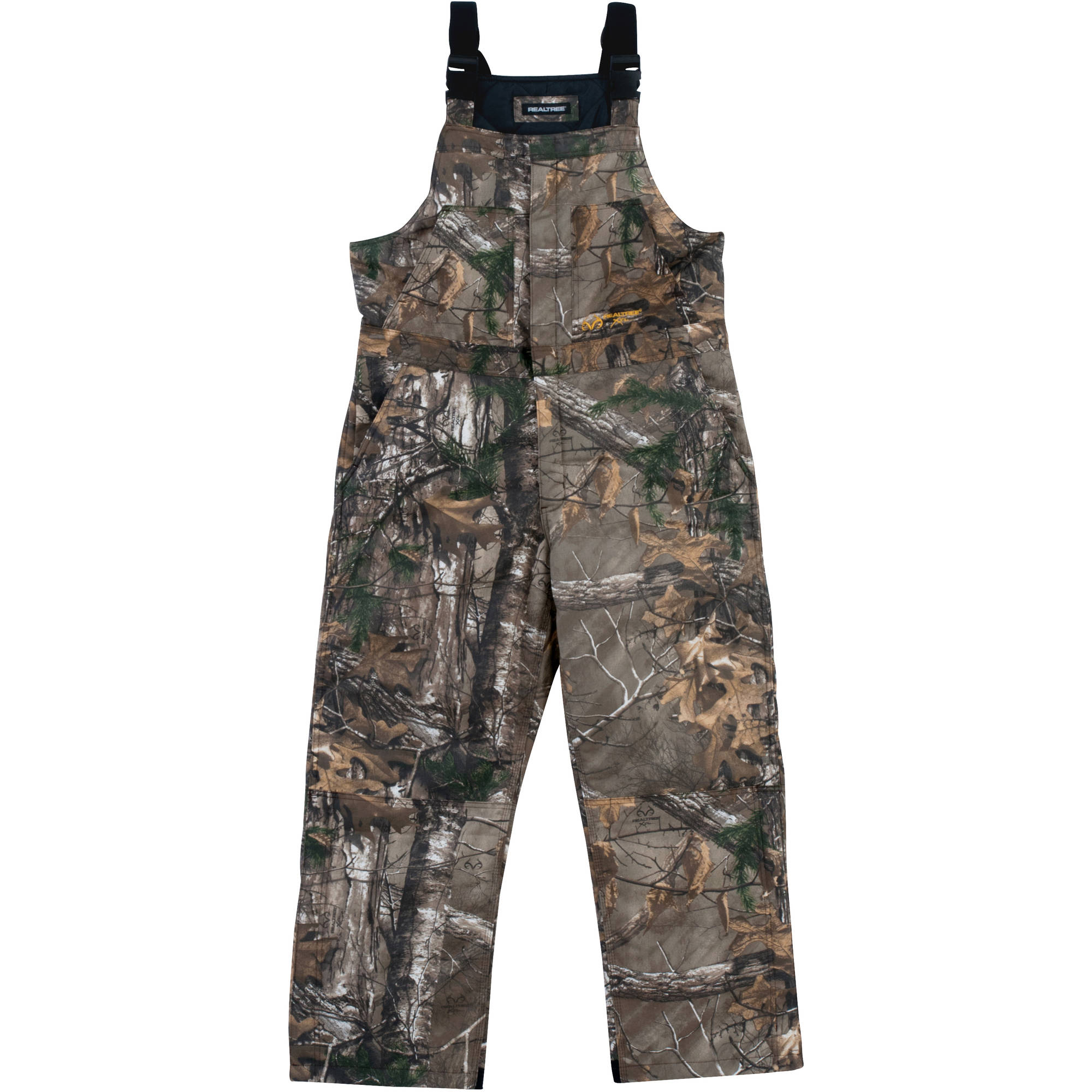 Realtree Men's Insulated Bib, Realtree Xtra