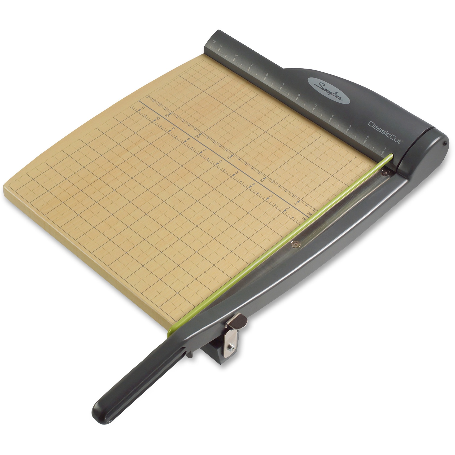 "Swingline ClassicCut Pro Guillotine Trimmer, 12"" Cut Length, 15 Sheet Capacity"