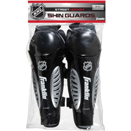 Franklin Sports NHL Sx Competition Shin Guard 175 Junior, S/M, 9
