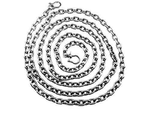 """US Stainless 316 Stainless Steel Windlass 5//16/"""" ISO G4 Anchor Chain by the foot"""