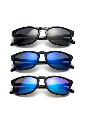Newbee Fashion - Kyra Girls Fashion Sunglasses Round Vintage Trendy Kids Sunglasses UV Protection Cateye Large Oversized