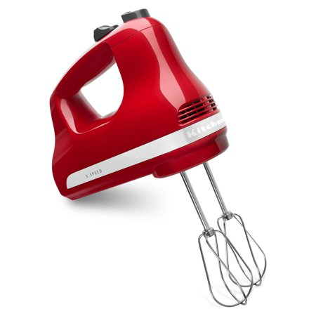 KitchenAid 5-Speed Ultra Power Hand Mixer, Empire Red (Kitchenaid Khm512 5 Speed Ultra Power Hand Mixer)