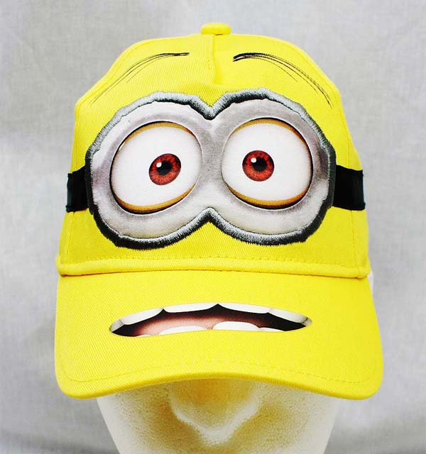 Baseball Cap - Despicable Me - Minions Happy Face Youth/Kids Hat New dl11867