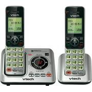 VTech CS6629-2 2 Handset Cordless Landline Phone w/ Power Consuming ECO Mode