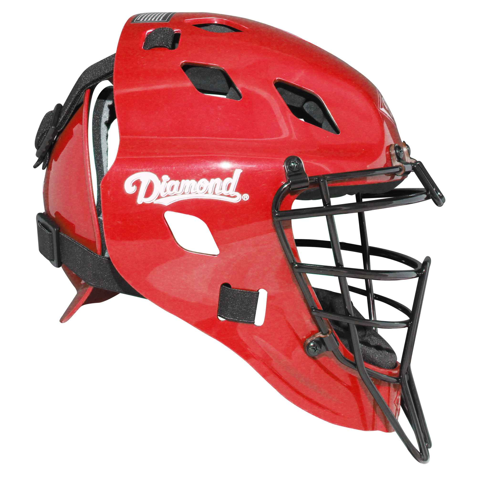 Diamond Edge Core Baseball/Softball Catcher's Helmet