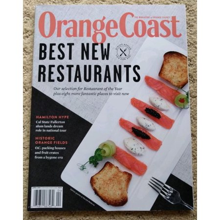 Orange Coast Magazine Best Restaurants in Orange County, USA