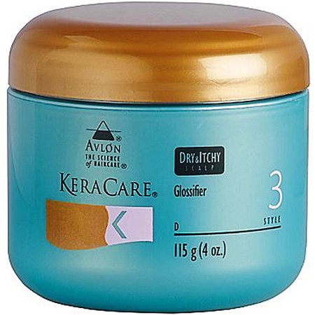 KeraCare Dry & Itchy Scalp Glossifier, 4 oz