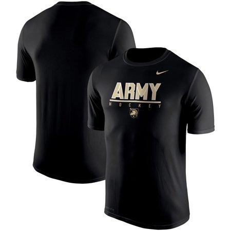 Army Black Knights Nike Hockey Drop Legend Performance T-Shirt - Black - Nike Army Black Knights
