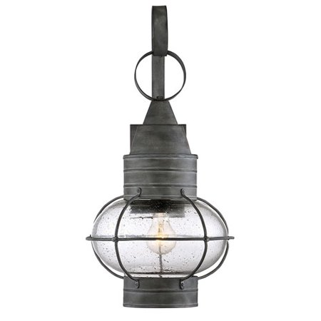 River Station Oxidized Black 22-Inch One-Light Outdoor Wall