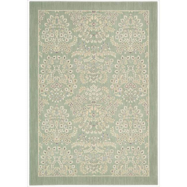 Nourison Barclay Butera Hinsdale Celery Area Rug by  - 5'3 x 7'5