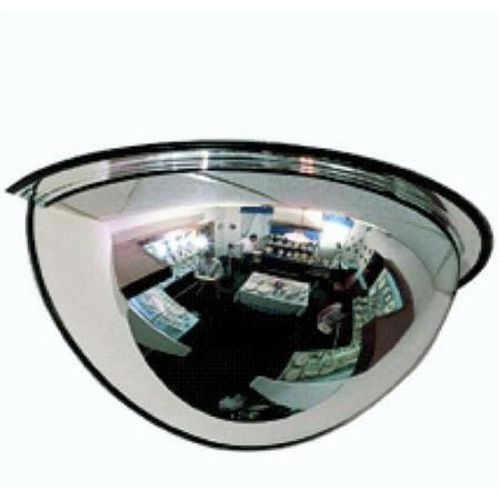 24 in. 180 Half Dome Mirror