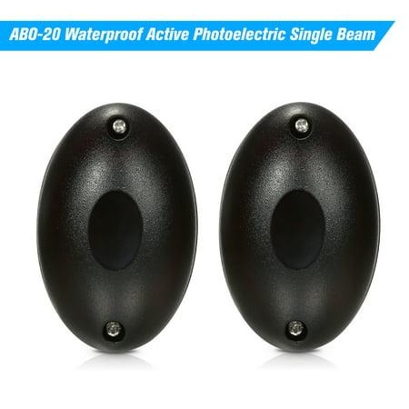 ABO-20 Waterproof Active Photoelectric Single Beam Infrared Sensor Barrier Detector for Gate Door Window Burglar Alarm System