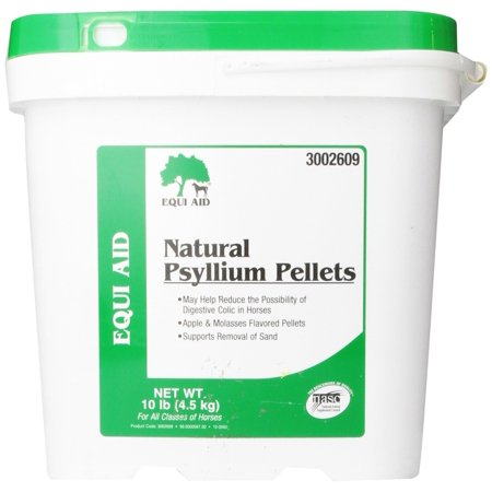 Equi Aid Psyllium (Farnam Equi Aid Natural Psyllium Fiber for Horses, 10 lbs. )