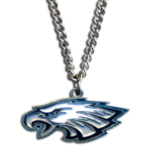 "NFL FN065 Philadelphia Eagles Metal Chain Necklace 20"" 20"""
