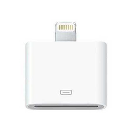 Refurbished Apple Lightning to 30-Pin Adapter (MD823AM/A)
