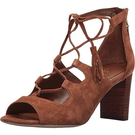 Steven Leather Strappy Sandals (LAUREN by Ralph Lauren Womens Hasel Leather Open Toe Casual Strappy)