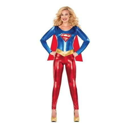 DC Comics Classic Supergirl Adult Costume - Supergirl Costume Adult