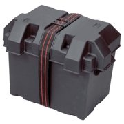 BATTERY BOX GRP 24 BLACK