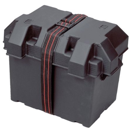 BATTERY BOX GRP 24 BLACK (Grp Crankcase)