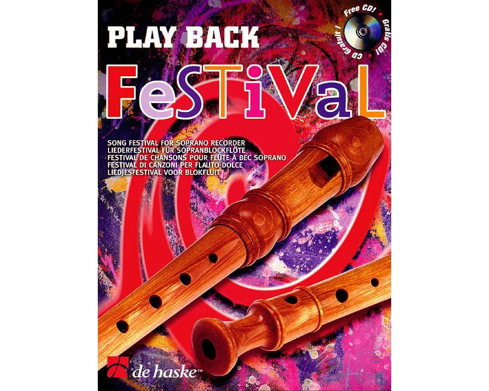 De Haske Music Play Back Festival (Song Festival for Soprano Recorder) De Haske Play-Along... by
