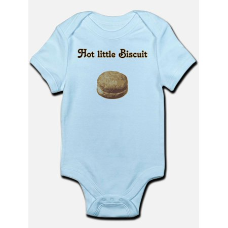 Hit Biscuit (CafePress - Hot Little Biscuit Infant Creeper - Baby Light Bodysuit )