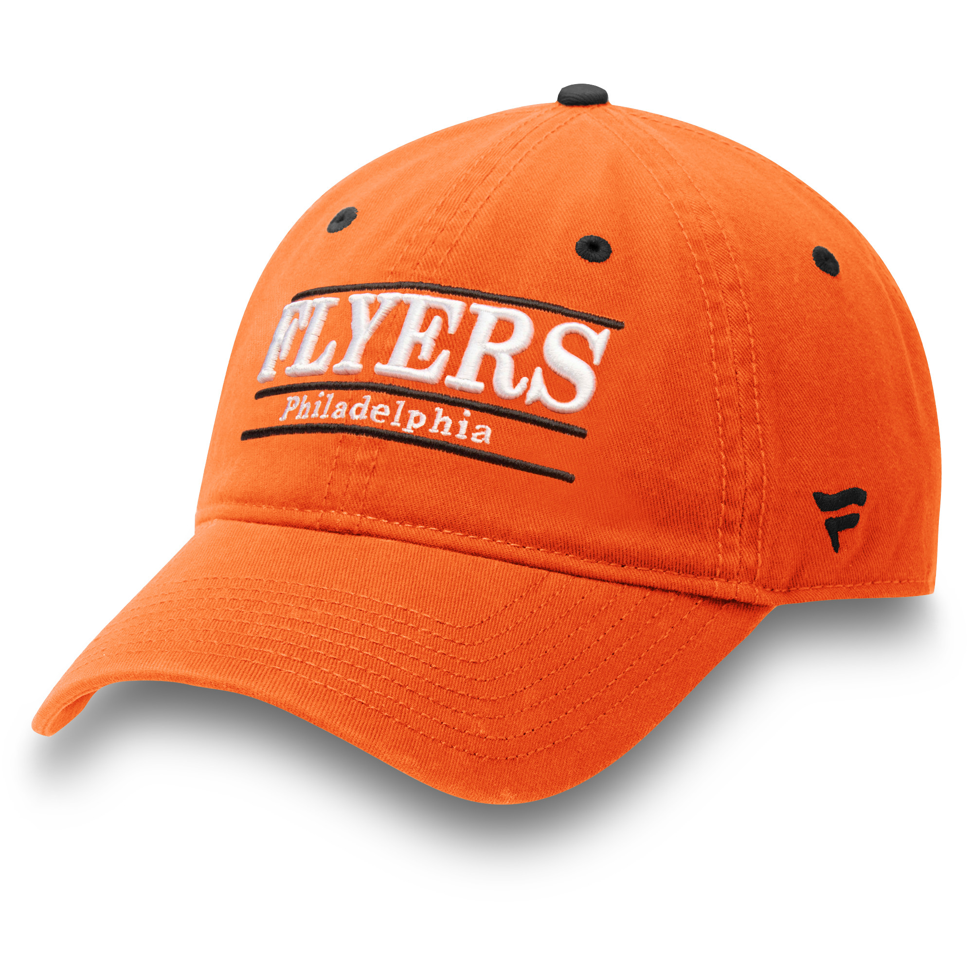 Philadelphia Flyers Fanatics Branded Primary Bar Adjustable Hat - Orange - OSFA