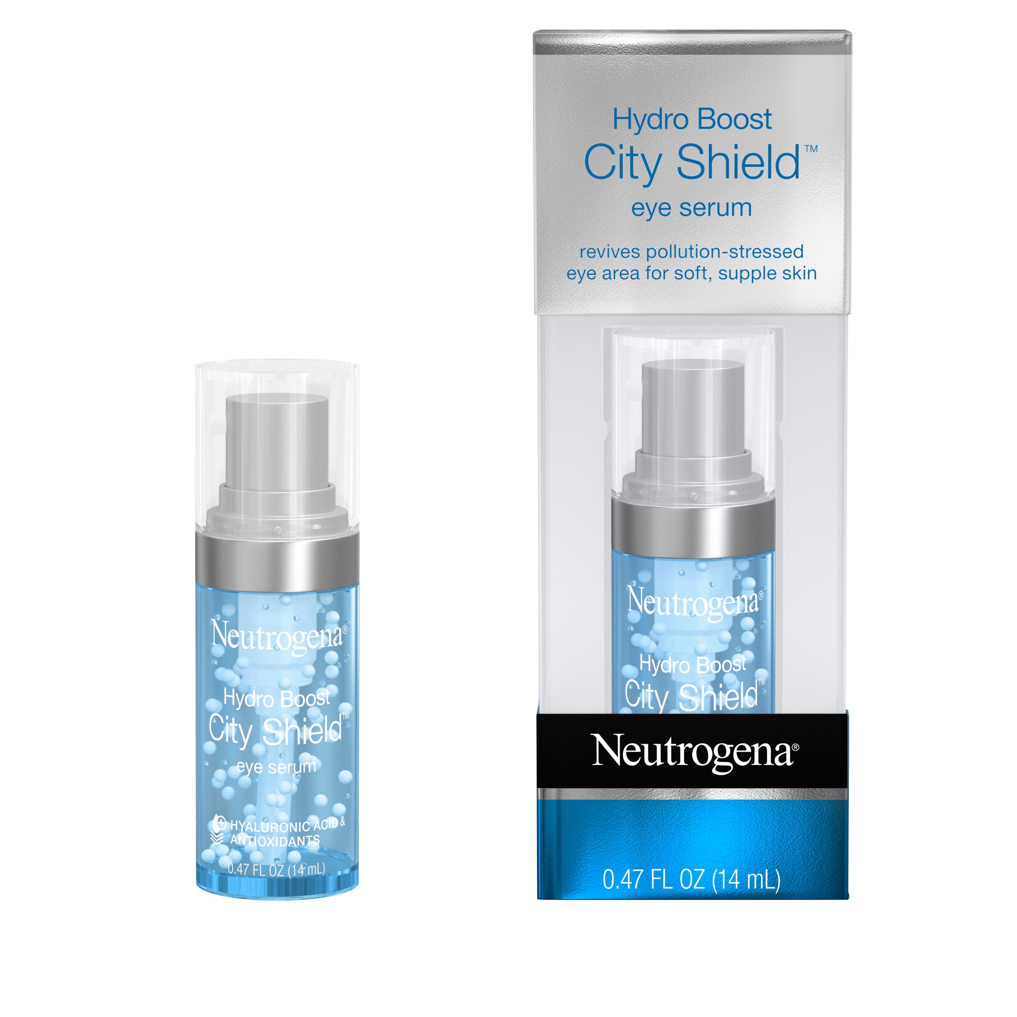 Neutrogena Hydro Boost City Shield Hydrating Eye Serum,.47 fl. oz