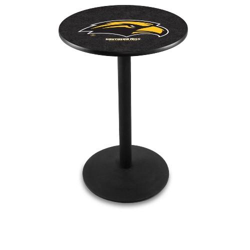 NCAA Pub Table by Holland Bar Stool, Black - USM Eagles, 42'' - L214