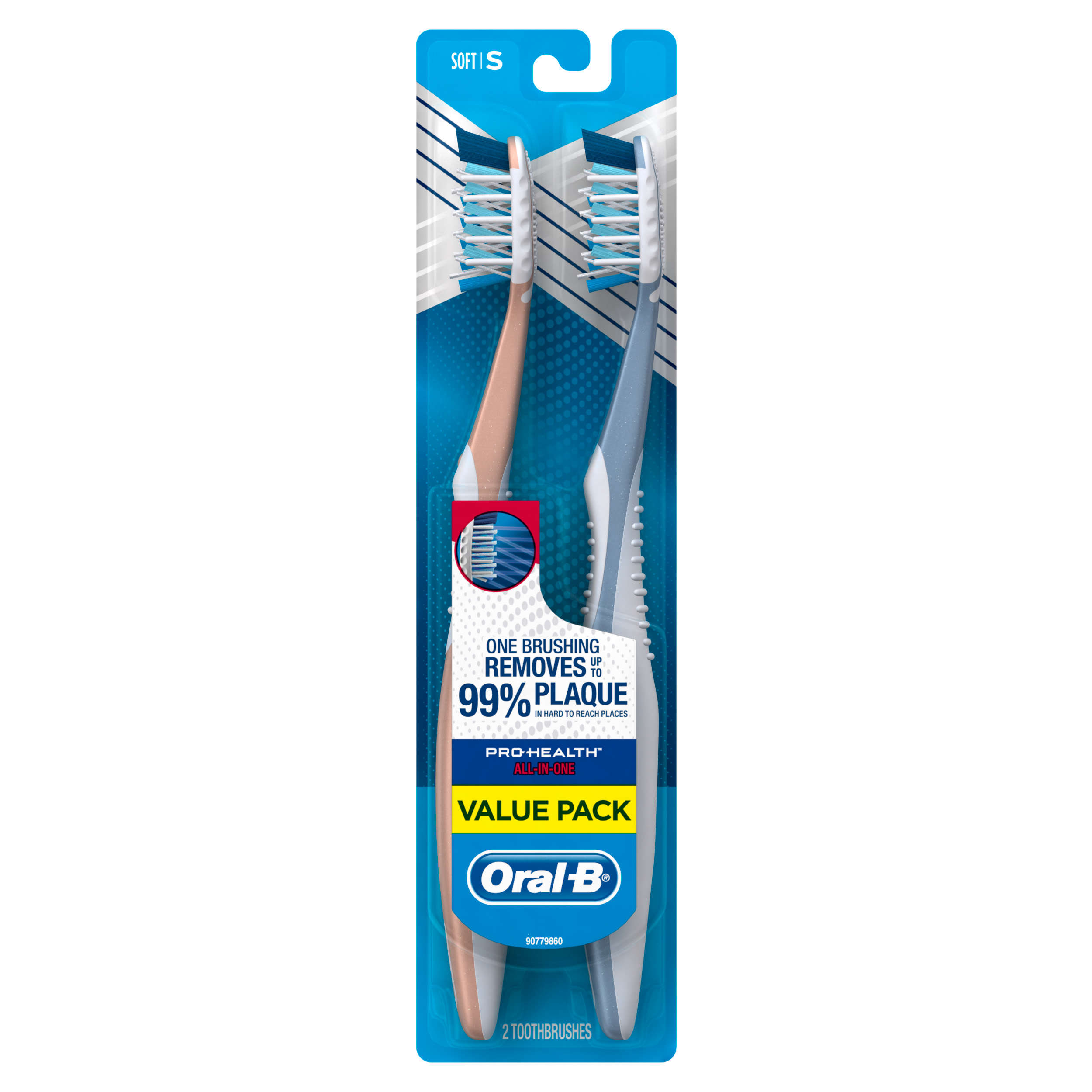 Oral-B Pro-Health All-in-One Toothbrush, 2 count 40 Soft