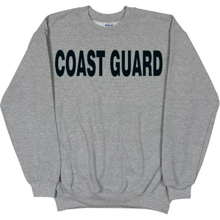 Fox Outdoor 64-672 XXXL Coast Guard Grey Sweatshirt - 3 XL