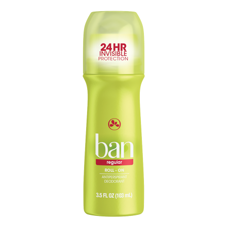 Ban Regular Roll-On Deodorant 3.5 oz