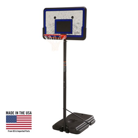 Lifetime 44   Portable Adjustable Height Basketball Hoop System  1221
