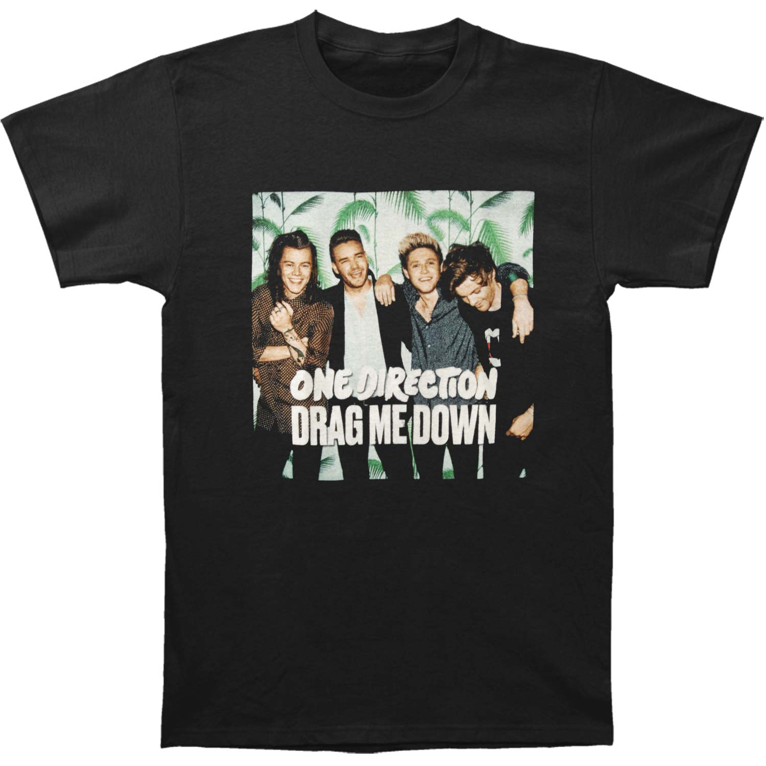 One Direction Men's  Drag Me Down T-shirt Black