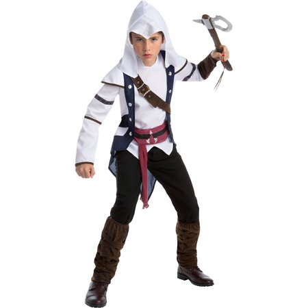 Assassin's Creed Connor Costume for Boys, Size Extra-Large, Includes a (Assassin's Creed Costume Connor)